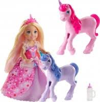 <b>Barbie Princess Doll</b> with Baby Unicorns GJK17 – купить <b>куклу</b> ...