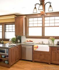 kitchen design cabinets traditional light: kitchen design ideas kitchen cabinets traditional light wood  cpa craftsman light farm sink wood floor