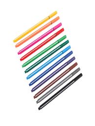 Набор ручек-<b>линеров Attache</b> Rainbow 12 цветов , трехгранный ...