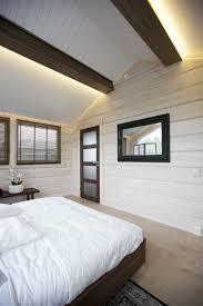 lighting sloped ceiling room