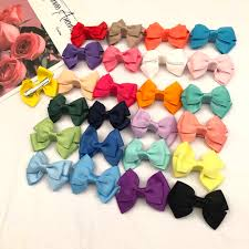 <b>Oaoleer Hair Accessories</b> Newborn Bow Headdress <b>Hair Clips</b> for ...