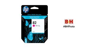 <b>HP 82 28</b>-ml <b>Magenta</b> Ink Cartridge CH567A B&H Photo Video