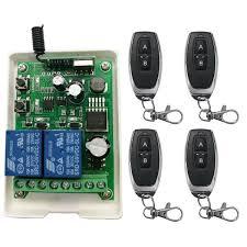 <b>Smart Multiple</b> Universal Wireless Remote Control Switch <b>DC12V</b> ...