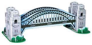 3D-пазл <b>CubicFun</b> Харбор Бридж (S3002), 33 дет. — купить по ...
