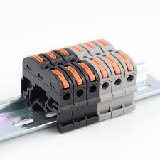 Type <b>5PCS SPL 1 PCT 211 Rail</b> Type Quick Connection Terminal ...