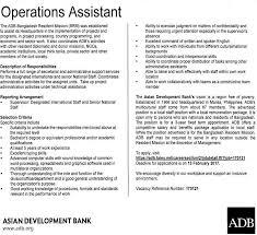 operations assistant at chakri com details