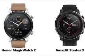 Honor Magic Watch 2 VS <b>Amazfit Stratos 3</b>: Which <b>Smart</b> Running ...
