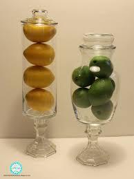 Lemon And Lime Kitchen Decor Rias World Of Ideas Diy Dollar Tree Kitchen Decor