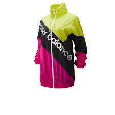 new balance <b>sport style optiks</b> windbreaker pink/green wj93505