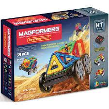 <b>Магнитный конструктор MAGFORMERS</b> Racing set|Блочные ...