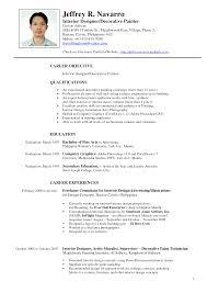 interior design resume berathen com interior designer resume objective