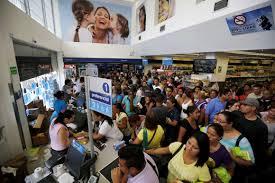 Resultado de imagem para crise de abastecimento na venezuela