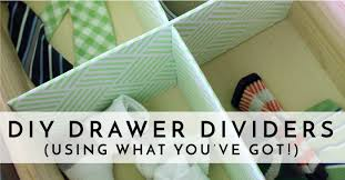 <b>DIY Drawer Dividers</b> (using what you've got!) | The Homes I Have ...