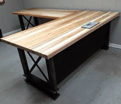 Elegant Iron Age Office Industrial Furniture Custom Built Desks For  N