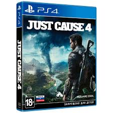 Купить PS4 игра Square Enix <b>Just Cause</b> 4 в каталоге интернет ...
