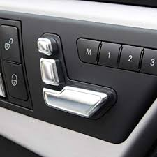 Body & Exterior <b>Styling 6pcs Car</b> Seat Adjust Button Cover Trim for ...