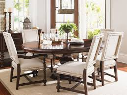 Tommy Bahama Dining Room Furniture Collection Kilimanjaro Maracaibo Round Dining Table Lexington Home Brands