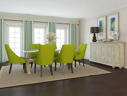 Fabric Dining Room Chairs Uk Miles Oak Amp Teal Fabric Taper Back Dining Chairs Pair Hexagon