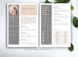 ideas about Marketing Resume on Pinterest   Free Resume     Resume template for MS Word by Fortunelle Resumes on Creative Market