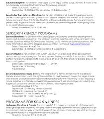 fall kids programs kids books and more westwood public to our fall programming guide please click here