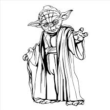 YODA <b>STAR WARS</b> WALL ART STICKER <b>wall Decal</b> DIY Home ...