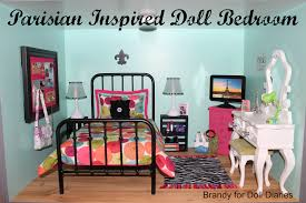 parisian inspired doll bedroom diaries since american girls of the year grace has a paris theme home decor american girl furniture ideas