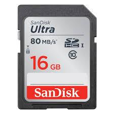 <b>Карта памяти</b> SanDisk Ultra SDHC <b>16Gb</b> Class 10 UHS-I (80/10 ...