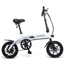 <b>Samebike YINYU14 Smart Folding</b> Bicycle Moped Electric Bike E ...