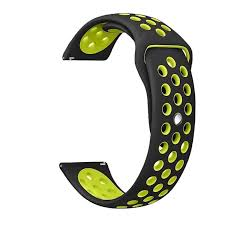 <b>22MM</b> Soft <b>Silicone</b> Band Replacement Strap for Gear S3 / Galaxy ...
