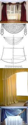 """""""Patterns and swags of curtains 