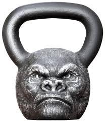<b>Гиря</b> цельнолитая <b>Iron Head</b> Горилла 16 кг — купить по выгодной ...