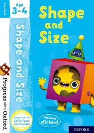 Buy <b>Progress with</b> Oxford: Shape and Size Age 3-4 by <b>Sarah</b> ...