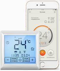 <b>Терморегулятор</b> для теплого пола <b>Теплолюкс MCS 350</b> WiFi ...