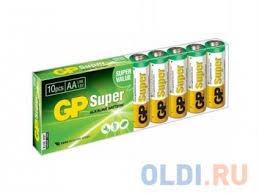 Батарейки <b>GP</b> 15A-B10 AA 10 шт — купить по лучшей цене в ...