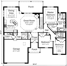 One level house plans  Home plans and House plans on Pinterest