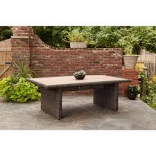 brown jordan northshore rectangular patio dining table stock dy6061 td the home depot brown jordan northshore patio furniture