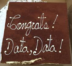 congratulations to dr peter lwigale who earned tenure and cake