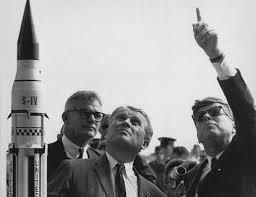 Dr. Wernher von Braun and President John F. Kennedy