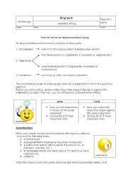 english teaching worksheets argumentative essay english worksheets how to write an argumentative essay