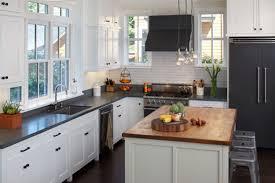 Kitchen Cabinets Richmond Va Black Kitchen Cabinets With Brick Backsplash Cliff Kitchen
