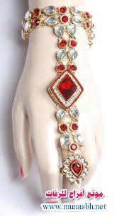 اكسسوارات العروس الهندية images?q=tbn:ANd9GcT