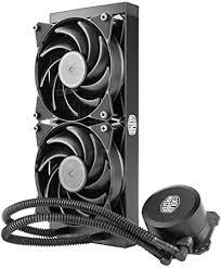 <b>Cooler Master MasterLiquid</b> Lite 240 CPU Liquid Cooler - Dual ...