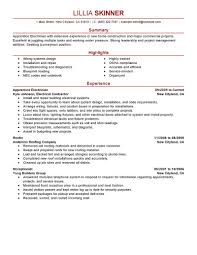 best apprentice electrician resume example livecareer create my resume