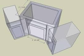 corner kitchen sink unit base cabinet photos