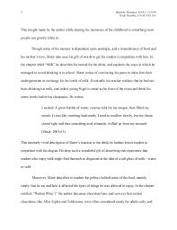 food memoir essay ms word