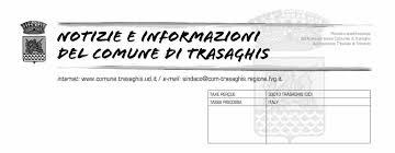 """Risultati immagini per """"Notizie e informazioni del Comune di Trasaghis"""""""