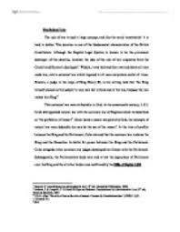 rule of law british constitution essay   how to start a character    magna carta  rule of law  president obama in a speech to the british parliament said   the u s  constitution and the declaration of independence