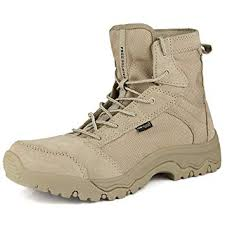 FREE SOLDIER <b>Military Boots</b> Outdoor Men's <b>Combat Boots</b> ...