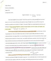 dialogue essayliteracy narrative   electronic portfolio the main thing i had to change in my essay was
