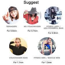 500mm <b>Women</b> Rubber Loop Pilates <b>Resistance Bands</b> Set Fitness ...